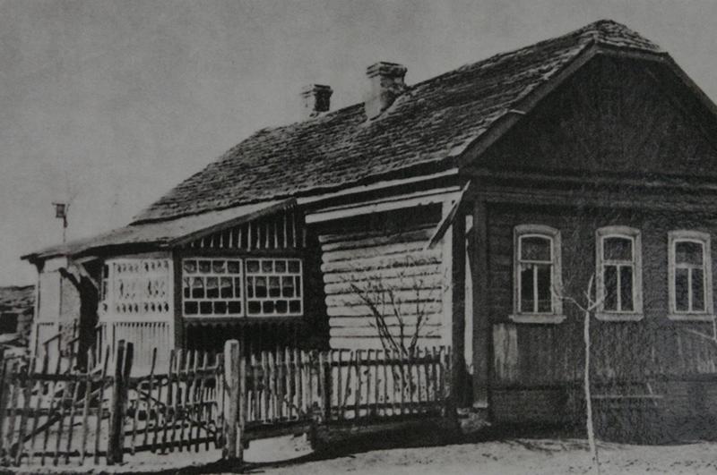 Дом в деревне Клушино Смоленской области, в котором родился Юрий Гагарин