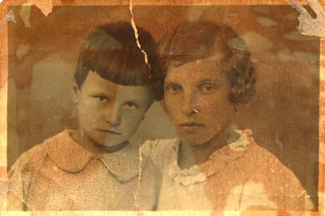 Со старшей сестрой до войны