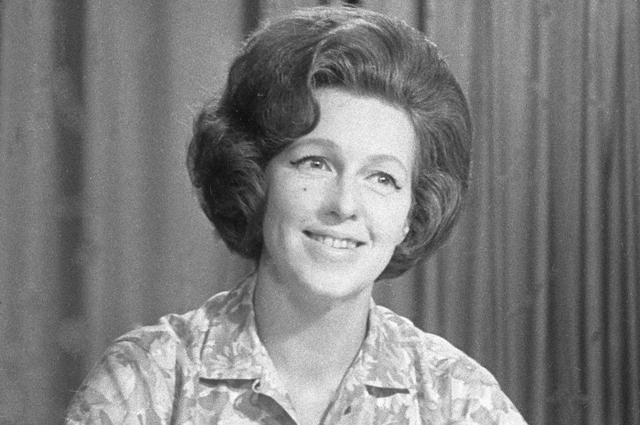 Валентина Леонтьева. 1966 год.
