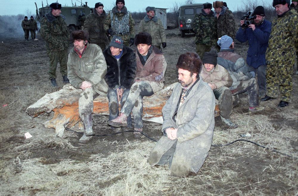 Первая освобожденная группа заложников, 9-18 января 1996 г.