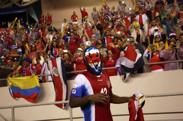 Фанаты сборной Коста-Рики