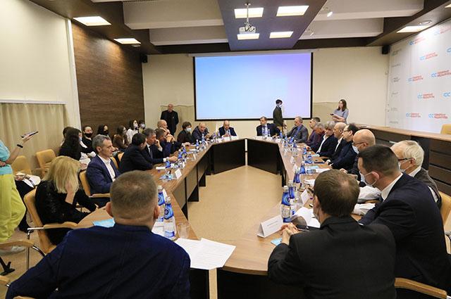 Круглый стол по обсуждению перспектив высотного строительства в Барнауле