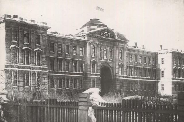 Сибревком. Ныне здание Законодательного собрания Омской области.