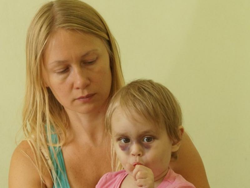 В больнице Ирина стала мамой для Алисы
