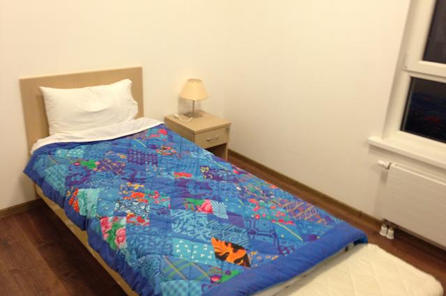 Спальня спортсмена на Олимпиаде в Сочи