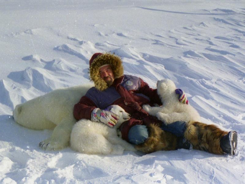 Любимые экспедиции полярника по изучению медведей