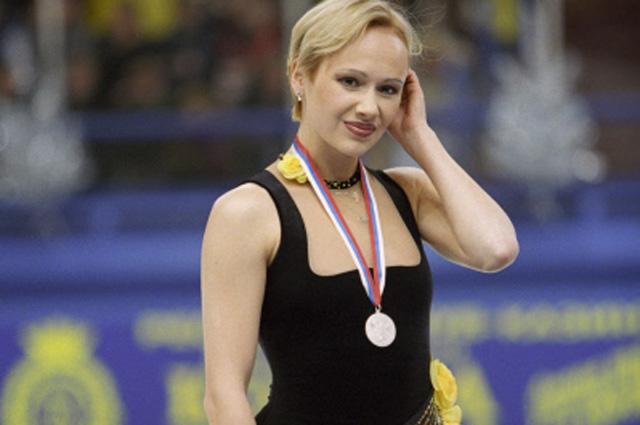 Мария Бутырская на Чемпионате России по фигурному катанию, 1999 г