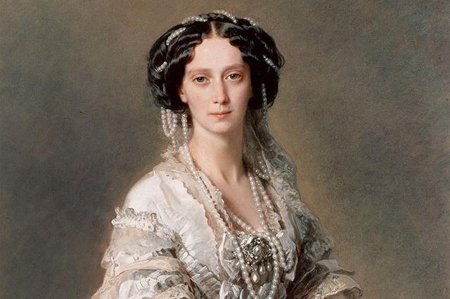 Императрица Мария Александровна. Портрет Франца Винтерхальтера, 1857 год (Эрмитаж)
