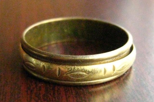 Старинное кольцо из Эгейского моря.