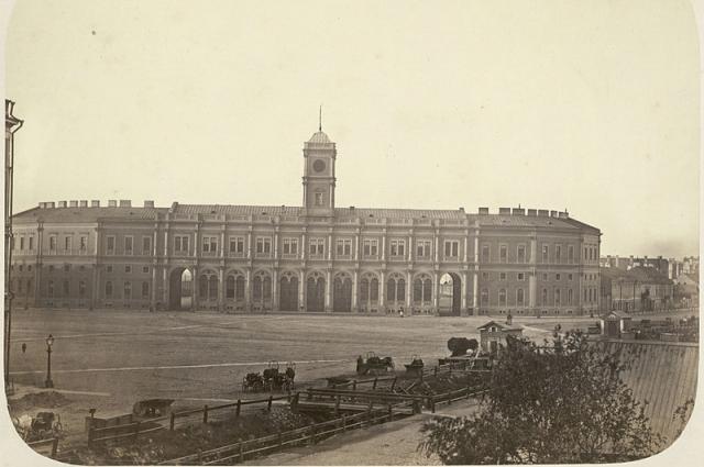 Николаевский (ныне Московский) вокзал Санкт-Петербурга.