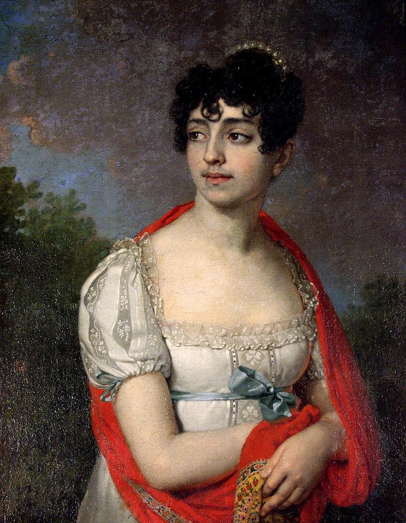 Княгиня Мария Барятинская, чьим именем названа усадьба.