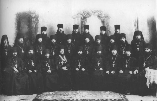 Белогорская братия.