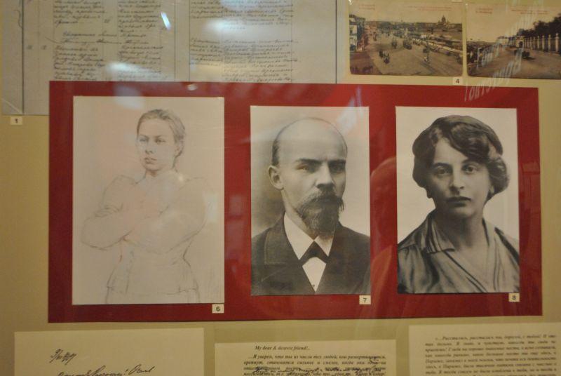 Треугольник: Крупская, Ленин, Арманд.
