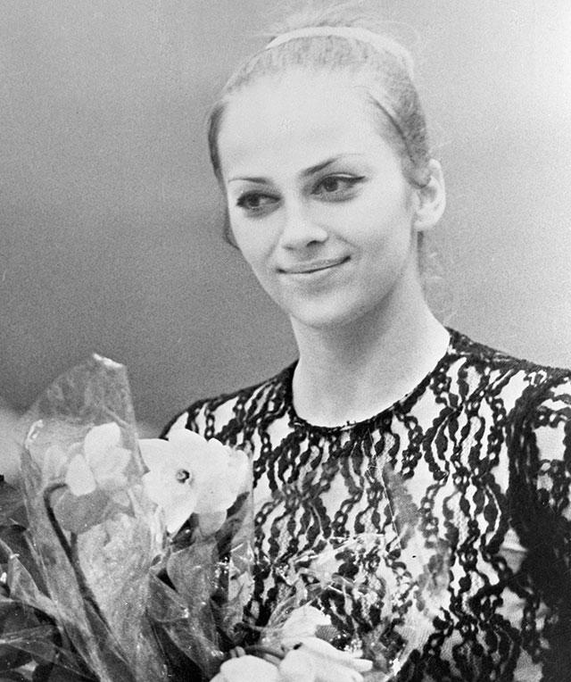 Ирина Дерюгина, 1975 г.