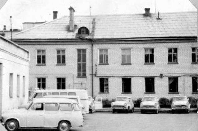 Здание станции скорой помощи, 60-е годы