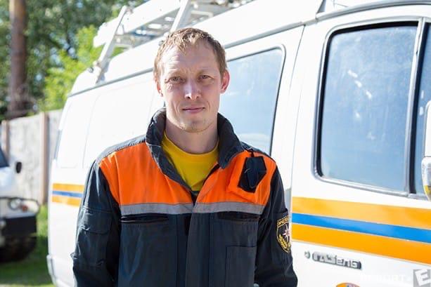 Александр Новоселов, бывший спасатель МЧС РФ