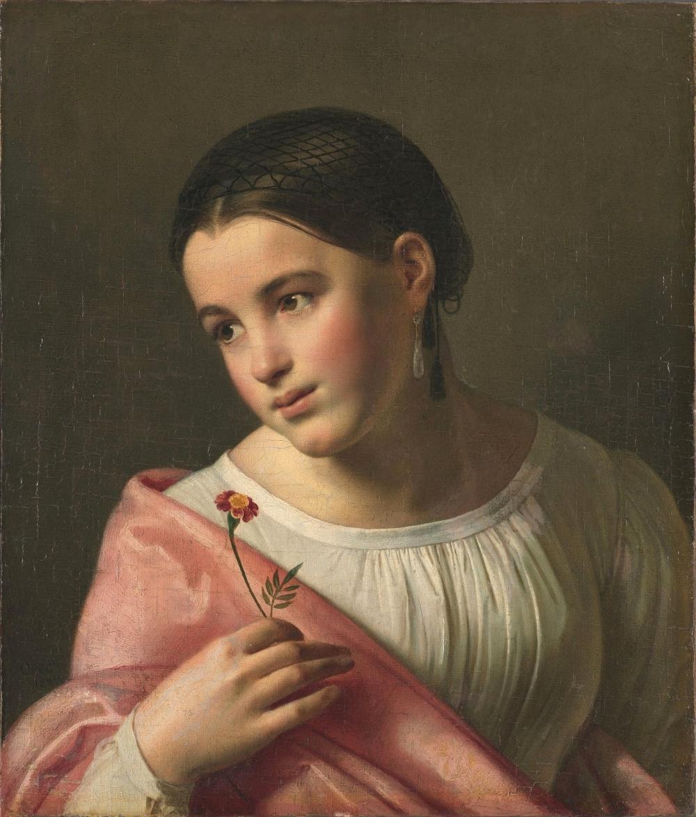Орест Кипренский «Бедная Лиза», 1792.