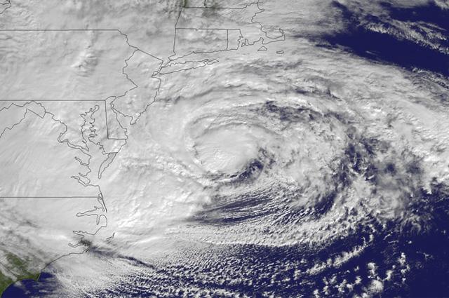 Ураган Сэнди 29 октября 2012 года