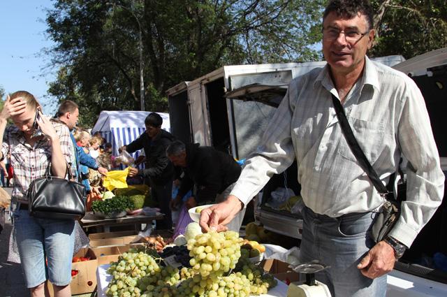 Огородник Александр Берёза считает, что российские санкции нужны прежде всего покупателям