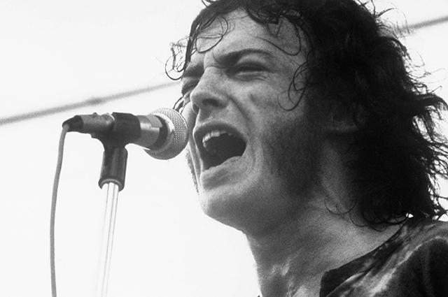 Джо Кокер на фестивале Вудсток в 1969 год