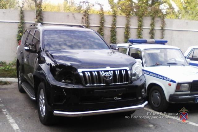 Автомобиль, за рулем которого был Роман Яковлев.