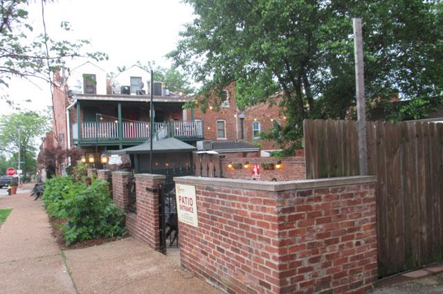 Старинные кварталы Сент-Луиса.