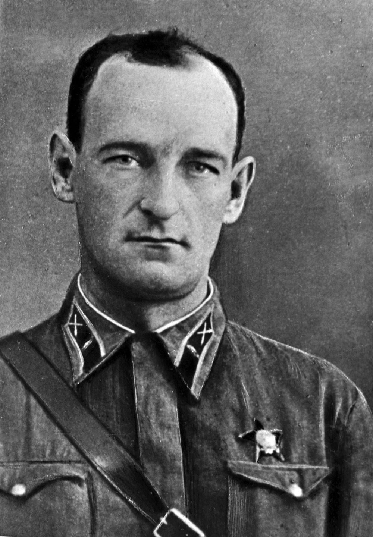 Иван Андреевич Флеров, капитан, командир первой батареи реактивной артиллерии «катюш».
