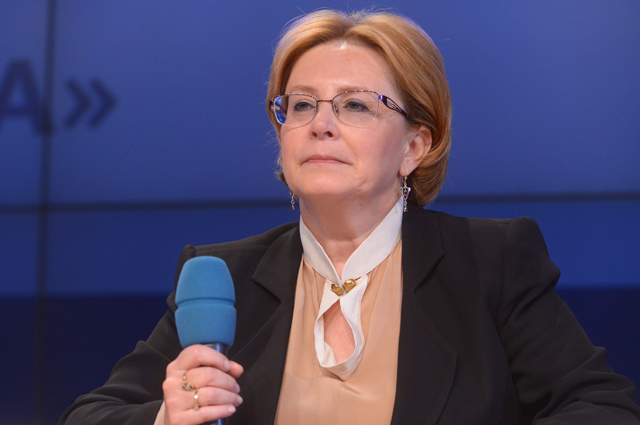 Министр здравоохранения РФ Вероника Скворцова.