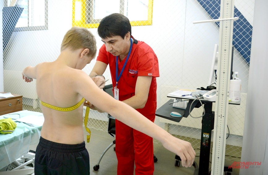 Измеряем параметры тела - основного инструмента спортсмена.