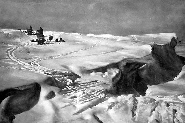 Экспедиция Руаля Амундсена.
