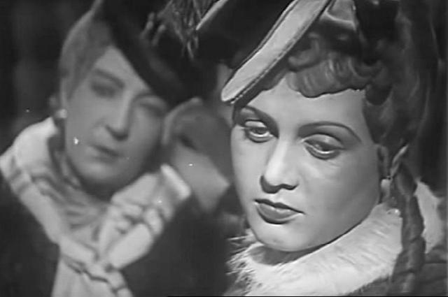 Татьяна Окуневская в фильме «Пышка» (1934)
