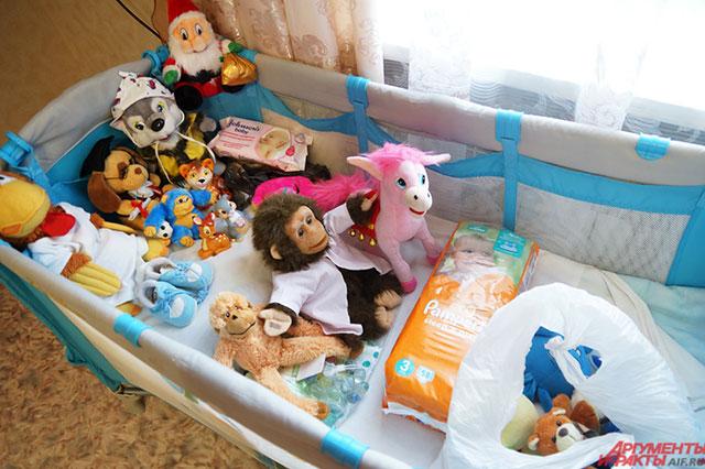 Клара уже подготовила комнату для внука.