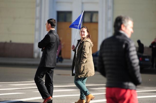 Туристы из Китая любят бывать в России.