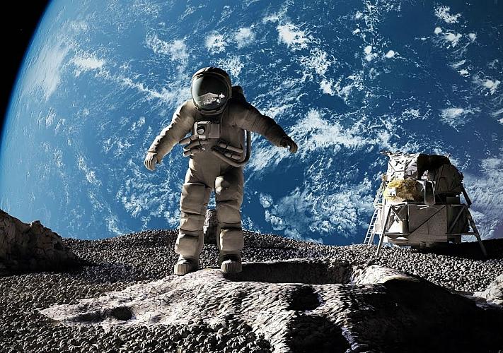 Полнокупольный фильм «Возвращение на Луну навсегда»