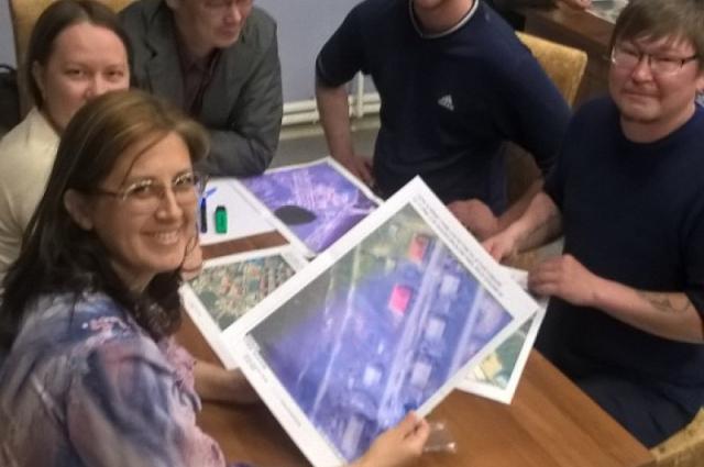 Жители Панаевска решают, как изменится их село в ближайшем будущем