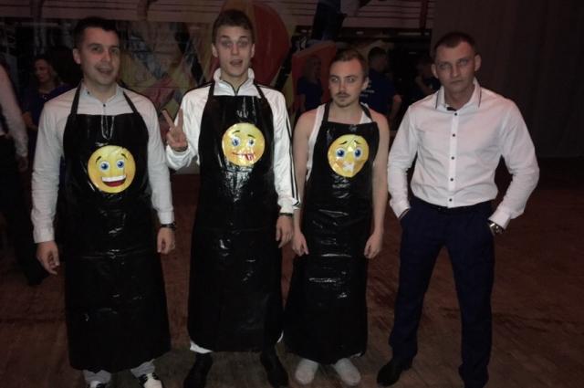 Серебряные призеры фестиваля команда