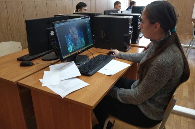 В компетенции «Веб-дизайн и разработка» соревновались 14 студентов.
