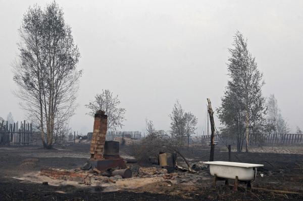 В 2010 году лесные пожары практически полностью уничтожили село Верхняя Верея