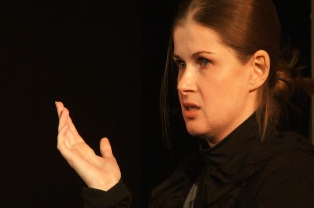 Ольга Урлапова недавно вренулась в Лицейский театр из Санкт-Петербурга.