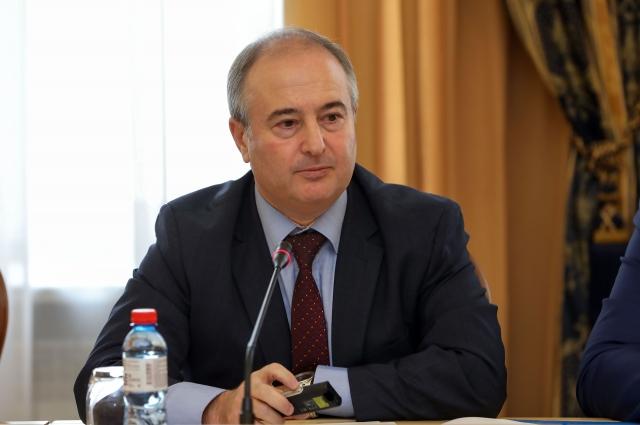 Министр здравоохранения Красноярского края Борис Немик.