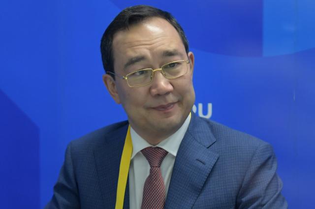 Глава Республики Саха (Якутия) Айсен Николаев.