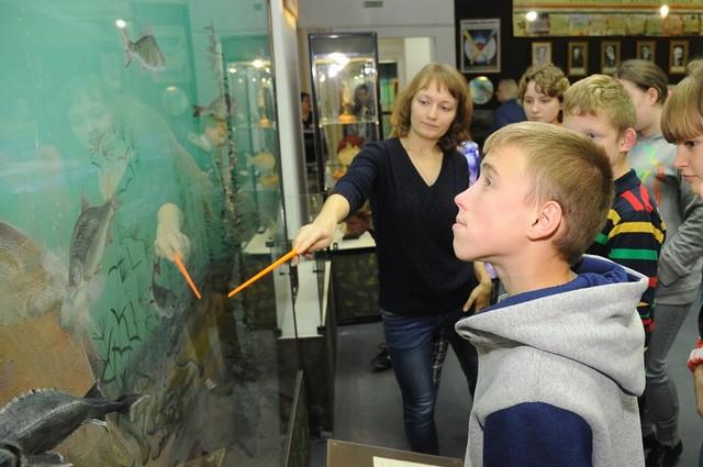 А омским детям рассказали о животных, которые водятся в регионе.