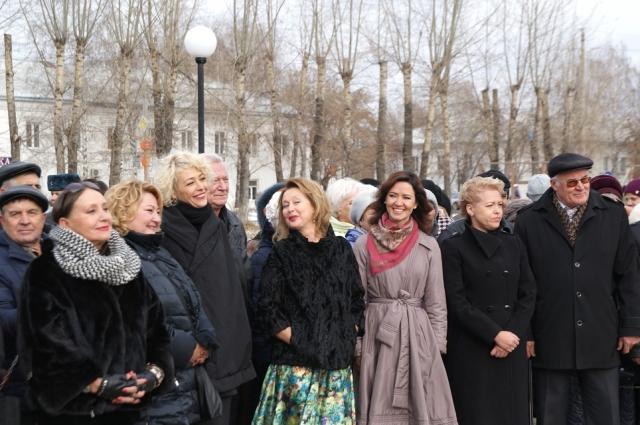 Звёзды российского и советского кино каждый год приезжают на кинофестиваль.