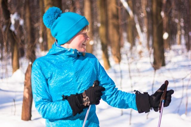 В субботу ожидается отличая погода для лыжников.