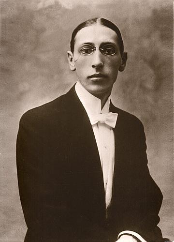 Стравинский в 1910 году.