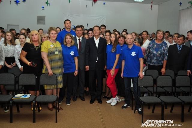 Все олимпийцы вернулись в родной Омск.