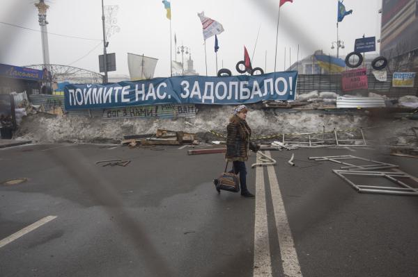 Митингующие говорят: Они на Майдане, потому что властью недовольны