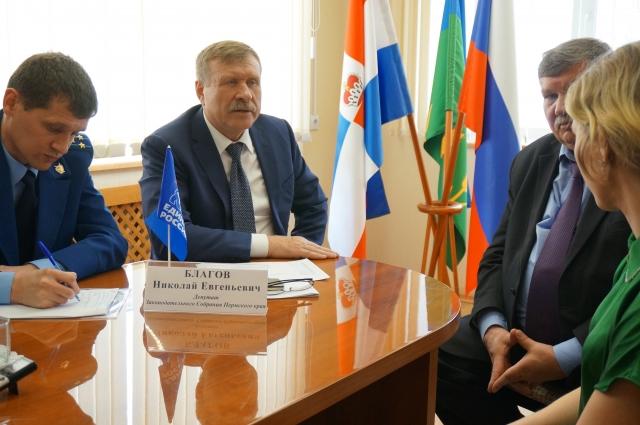 Николай Благов успел пообщаться с 18 жителями Куединского района.