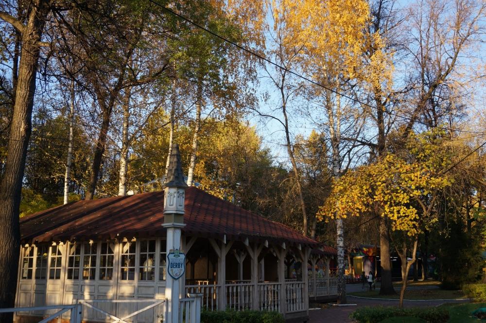 Осень в Перми.