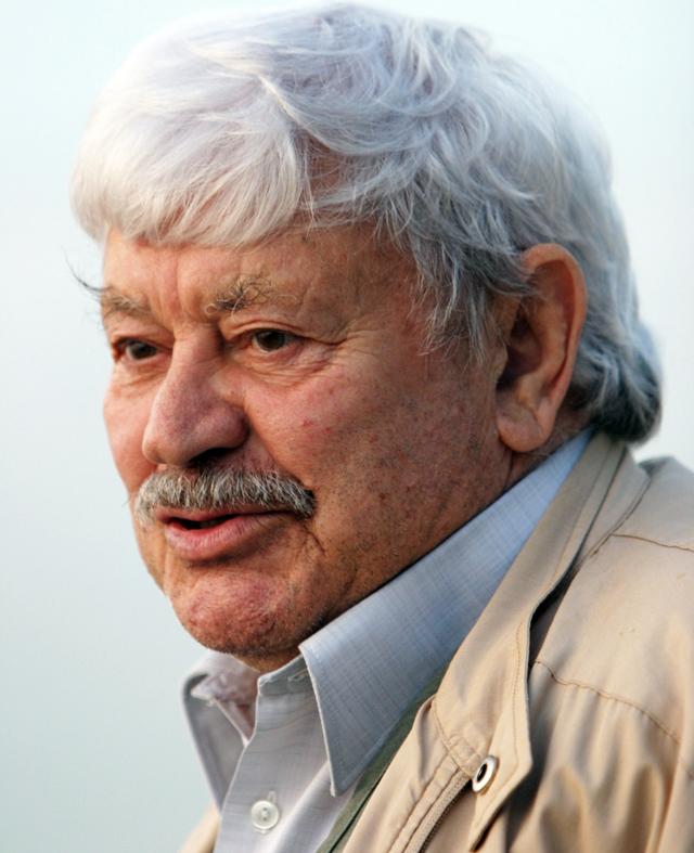 Народный артист СССР Донатас Банионис. 2004 г.